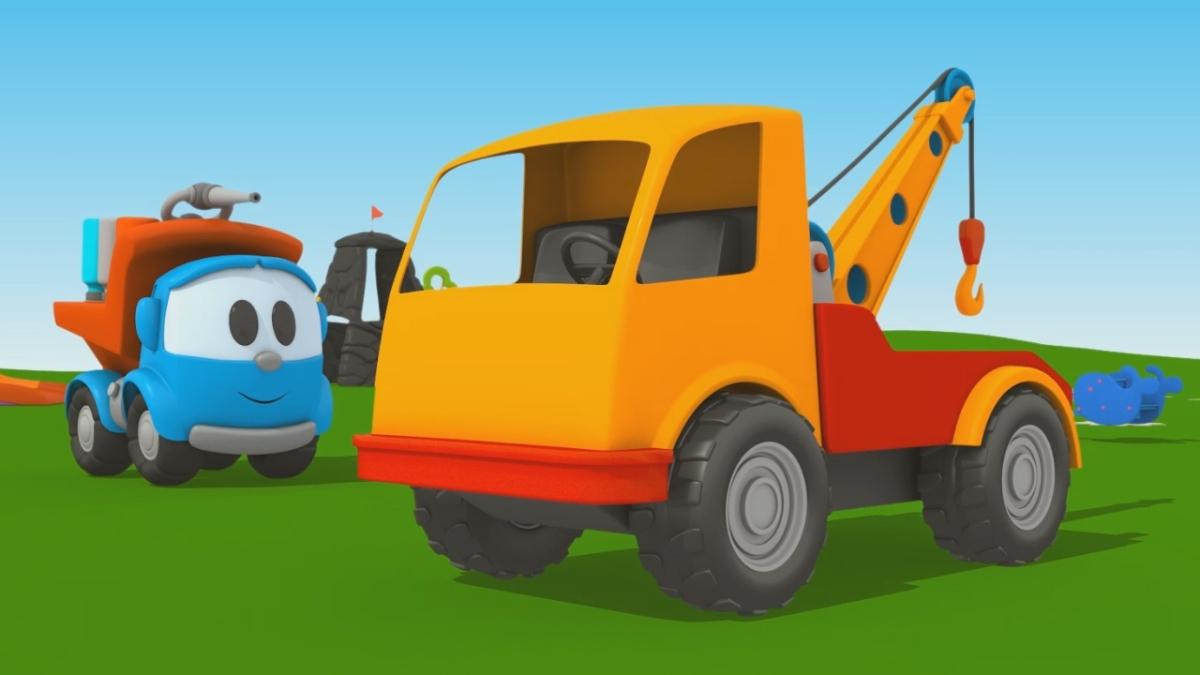 Cartoni animati per bambini leo junior coloriamo