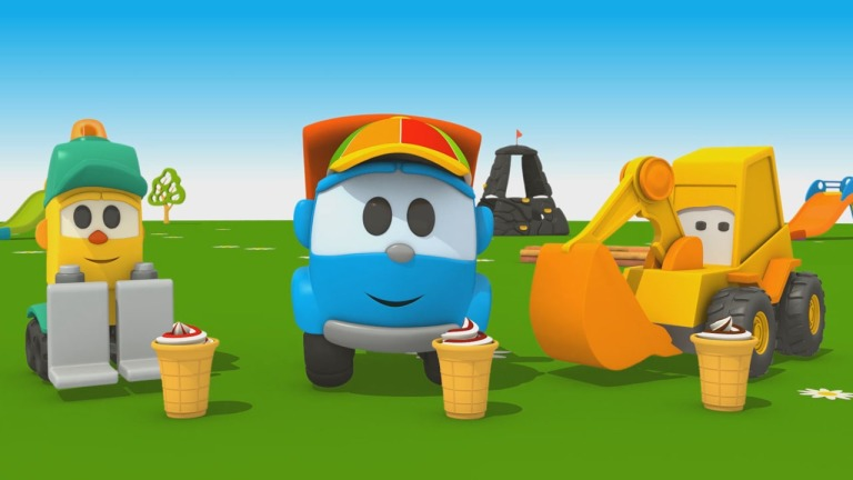 Cartoni animati come si fa il gelato per i bambini