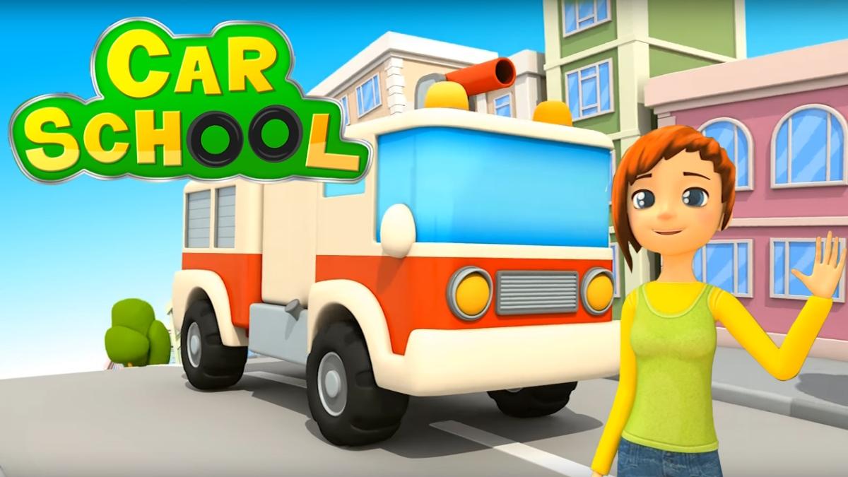 Carschool come diventare un bravo camion dei pompieri